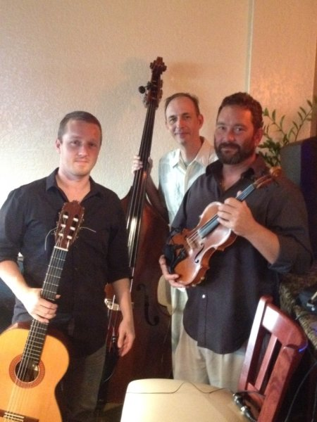Aland Duo joined by bassist J.P. Coley